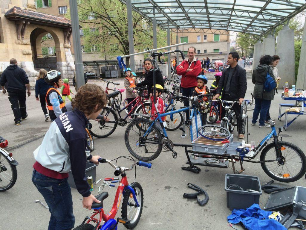 Atelier de rue Sécheron 2015 - Association Atelierderoue Genève