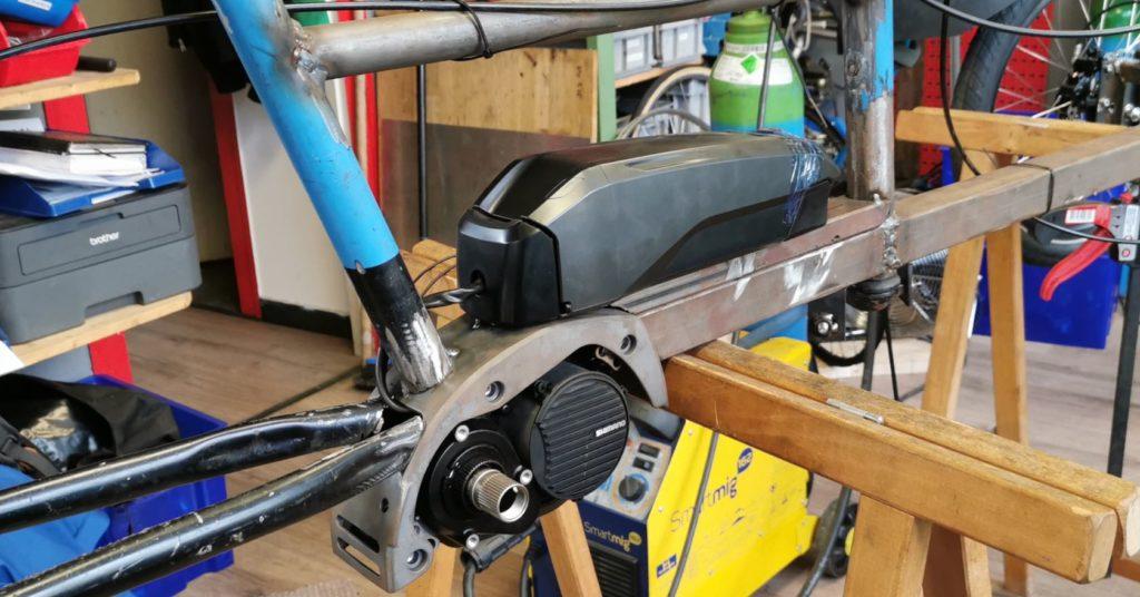 Motorisation Shimano STeps - Atelier Veloroule Genève