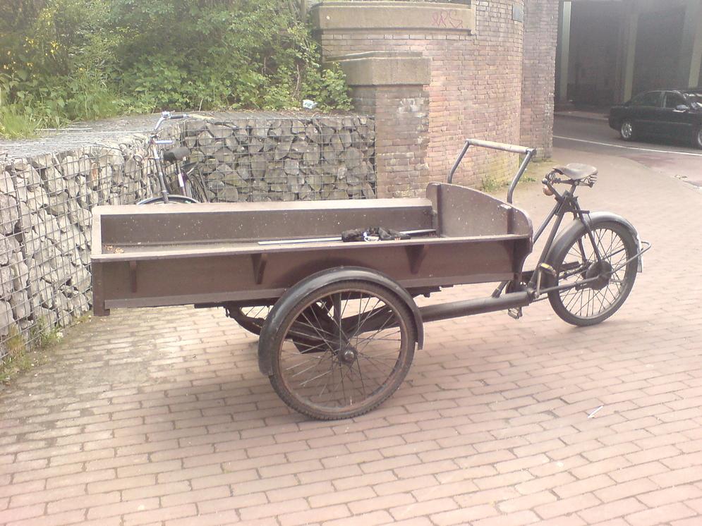 Old dutch cargobike - Atelier Veloroule Genève
