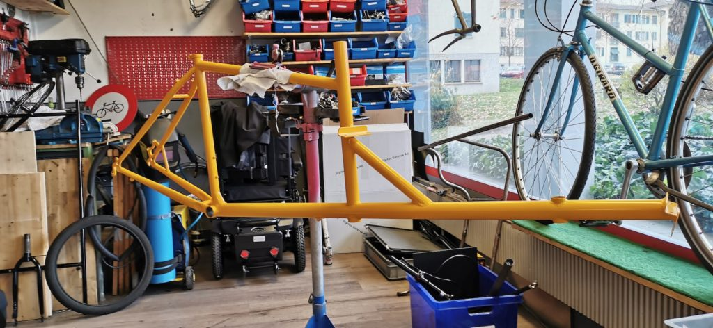 Construction sur mesure - Atelier Veloroule Genève