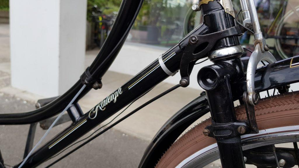Rénovation vélo ancien Raleight- Atelier Veloroule Genève