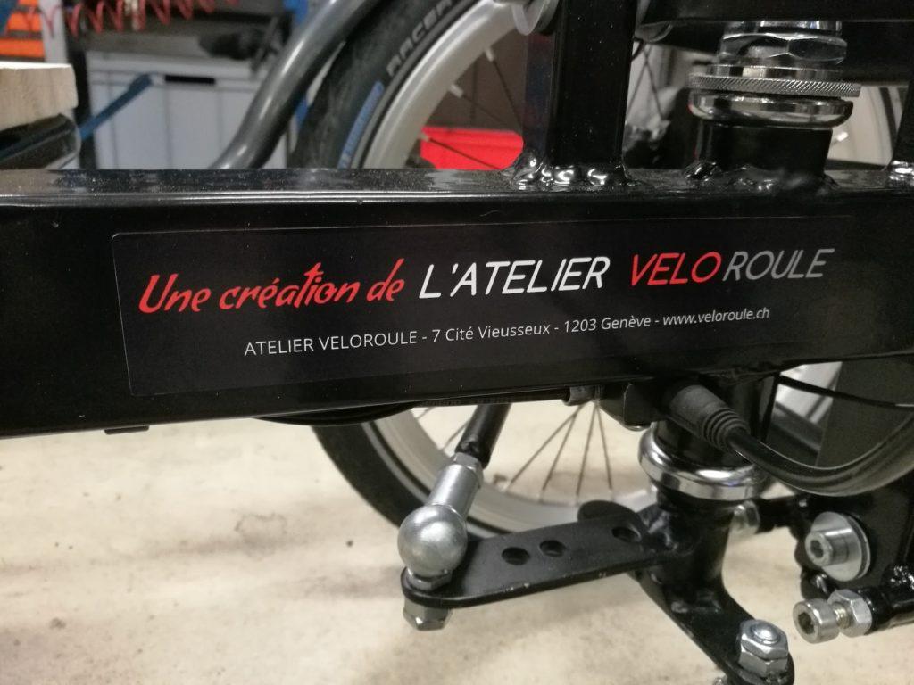 Construction cargobike sur mesure - Atelier Veloroule Genève