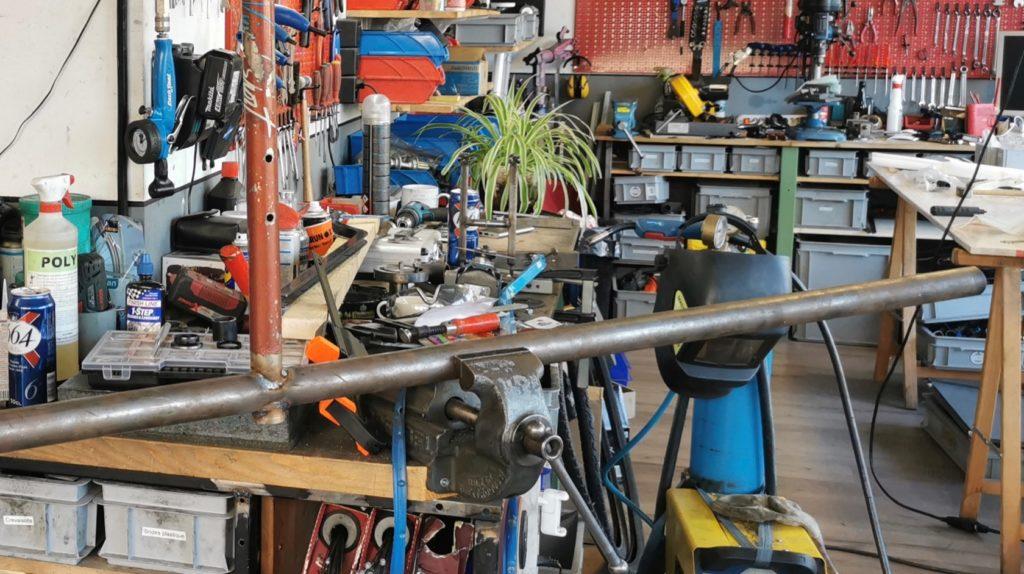 Construction d'un cargobike sur mesure - Atelier Veloroule Genève