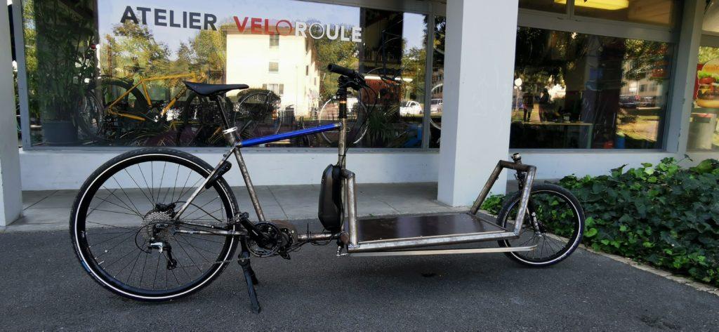 Biporteur électrique - Conception Atelier Veloroule Genève